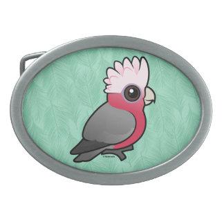 Birdorable Galah Belt Buckle