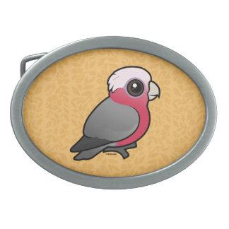 Birdorable Galah Belt Buckles