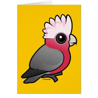 Birdorable Galah Card