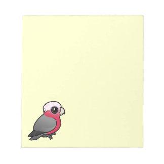 Birdorable Galah Memo Pads