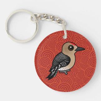 Birdorable Gila Woodpecker Keychain
