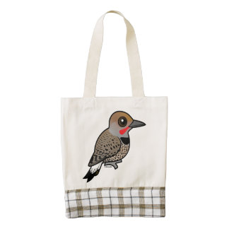 Birdorable Gilded Flicker Zazzle HEART Tote Bag