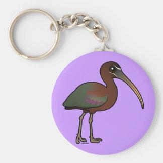 Birdorable Glossy Ibis Keychains