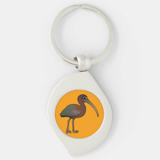 Birdorable Glossy Ibis Key Chain