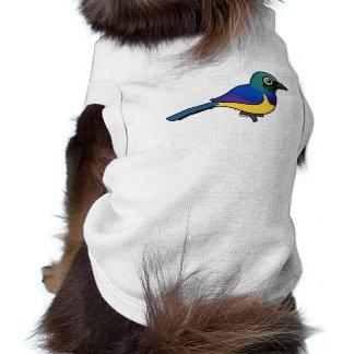 Birdorable Golden-breasted Starling Doggie Tshirt