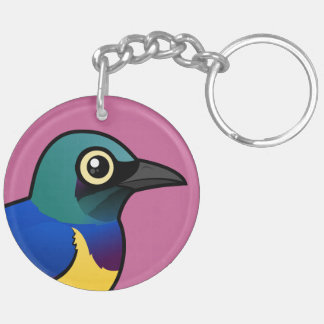 Birdorable Golden-breasted Starling Keychain