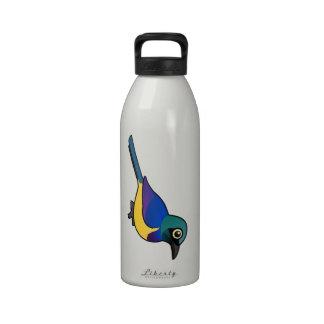 Birdorable Golden-breasted Starling Water Bottle