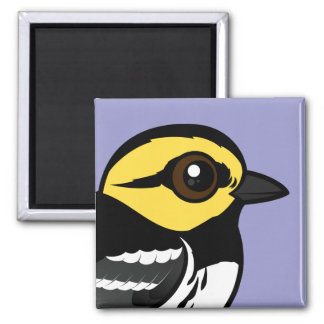 Birdorable Golden-cheeked Warbler Refrigerator Magnet