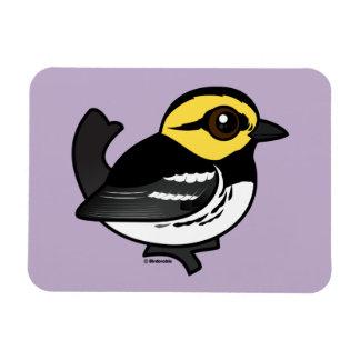 Birdorable Golden-cheeked Warbler Magnet
