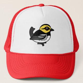 Birdorable Golden-cheeked Warbler Trucker Hat