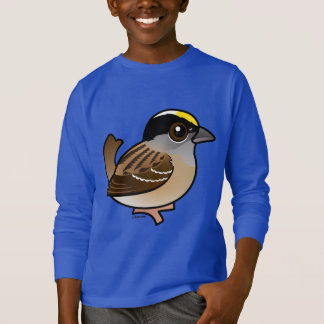 Birdorable Golden-crowned Sparrow T-Shirt