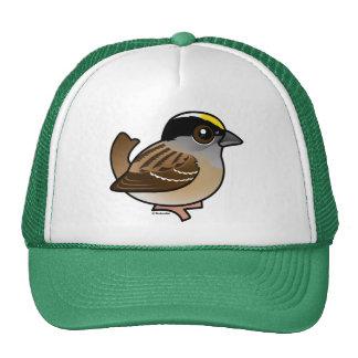 Birdorable Golden-crowned Sparrow Trucker Hat