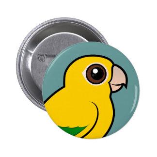 Birdorable Golden Parakeet Pin