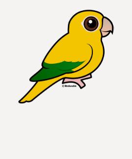 Birdorable Golden Parakeet Tee Shirts