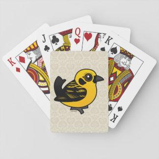 Birdorable Golden Tanager Deck Of Cards