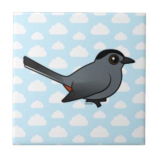 Birdorable Gray Catbird Ceramic Tiles
