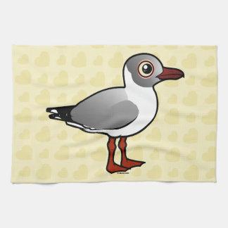 Birdorable Gray-headed Gull Hand Towel