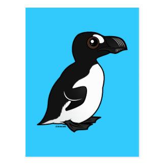 Birdorable Great Auk Postcard