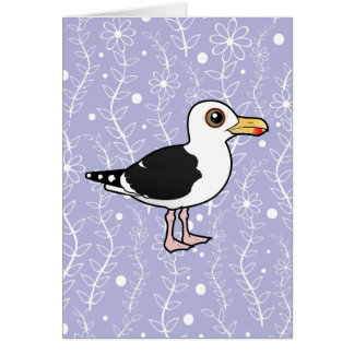 Birdorable Great Black-backed Gull Card