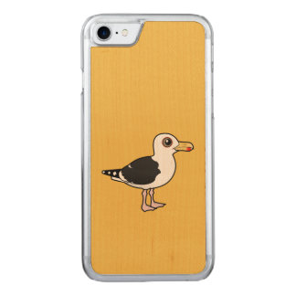 Birdorable Great Black-backed Gull Carved iPhone 8/7 Case