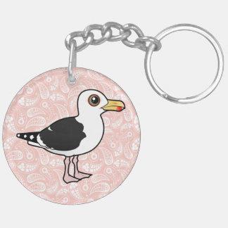 Birdorable Great Black-backed Gull Keychain