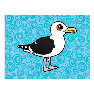 Birdorable Great Black-backed Gull Postcard