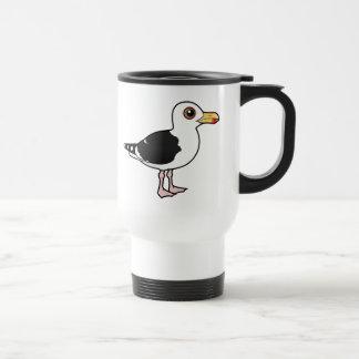 Birdorable Great Black-backed Gull Travel Mug