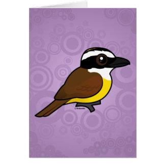 Birdorable Great Kiskadee Card