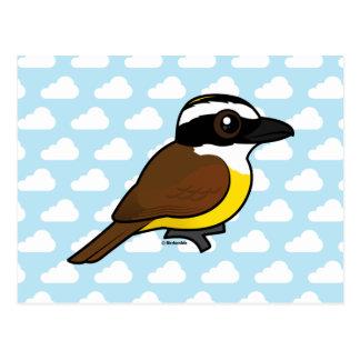 Birdorable Great Kiskadee Postcard