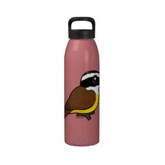 Birdorable Great Kiskadee Water Bottles