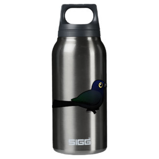 Birdorable Great-tailed Grackle Insulated Water Bottle
