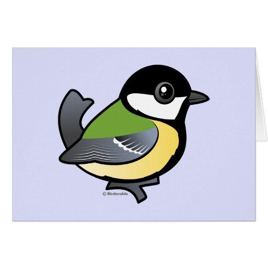 Birdorable Great Tit Card
