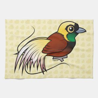 Birdorable Greater Bird-of-paradise Hand Towel
