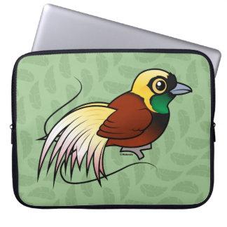 Birdorable Greater Bird-of-paradise Laptop Sleeve