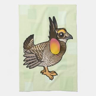 Birdorable Greater Prairie-Chicken Kitchen Towel