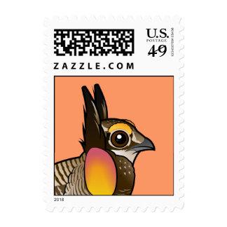 Birdorable Greater Prairie-Chicken Stamp
