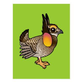 Birdorable Greater Prairie-Chicken Postcard
