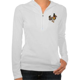 Birdorable Greater Prairie-Chicken Hooded Sweatshirt