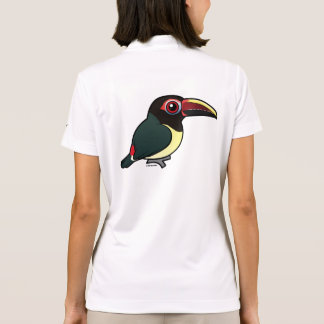 Birdorable Green Aracari Polo Shirt