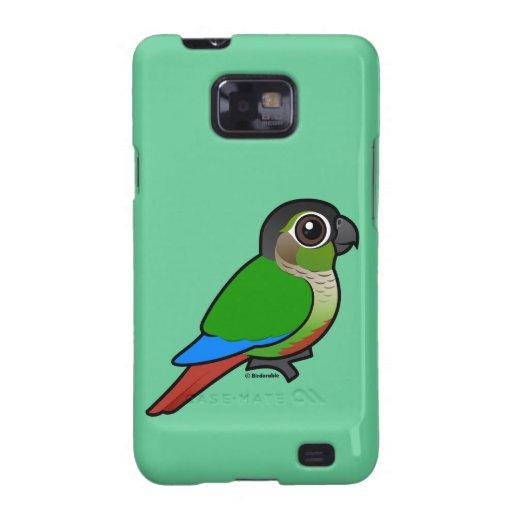 Birdorable Green-cheeked Conure Samsung Galaxy SII Case