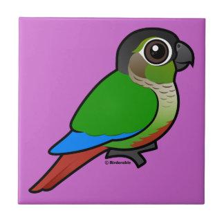 Birdorable Green-cheeked Conure Ceramic Tile