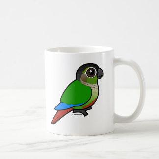 Birdorable Green-cheeked Conure Coffee Mug