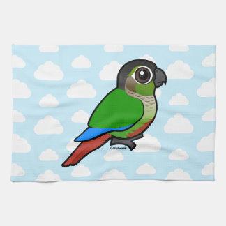 Birdorable Green-cheeked Conure Hand Towels