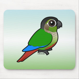 Birdorable Green-cheeked Conure Mouse Pad