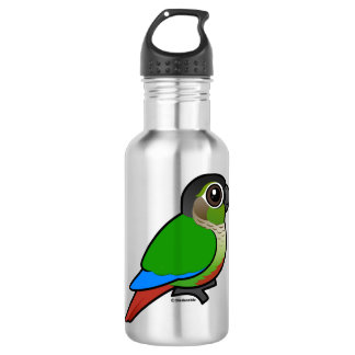 Birdorable Green-cheeked Conure Stainless Steel Water Bottle