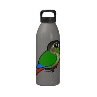 Birdorable Green-cheeked Conure Water Bottles