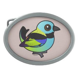 Birdorable Green-headed Tanager Belt Buckles