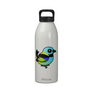 Birdorable Green-headed Tanager Water Bottles