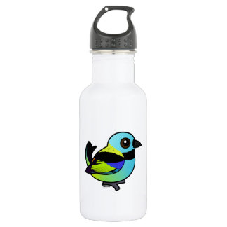 Birdorable Green-headed Tanager Water Bottle