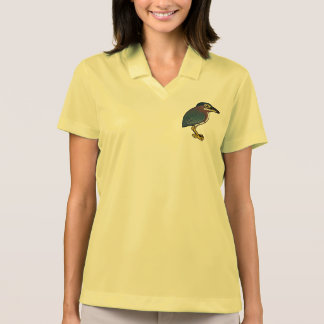Birdorable Green Heron Polo Shirt